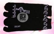 Grosir kaos kaki muslimah motif henna murah