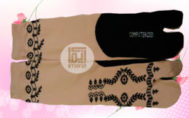 Grosir Kaos Kaki Muslimah Motif Henna