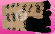 Grosir kaos kaki motif murah di solo