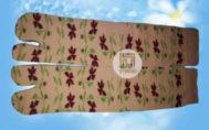 Grosir murah kaos kaki motif bunga
