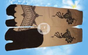 grosir kaos kaki motif henna