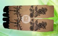 Grosir kaos kaki akhwat motif henna