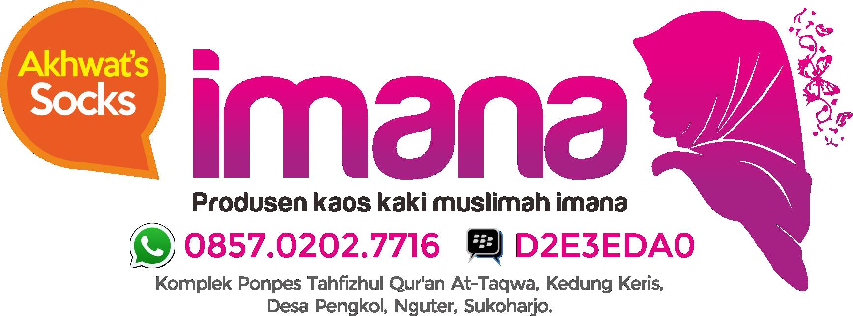 Podusen Kaos Kaki Muslimah Imana