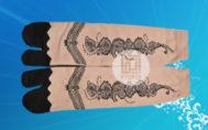Jual Kaos Kaki Muslimah Motif Henna